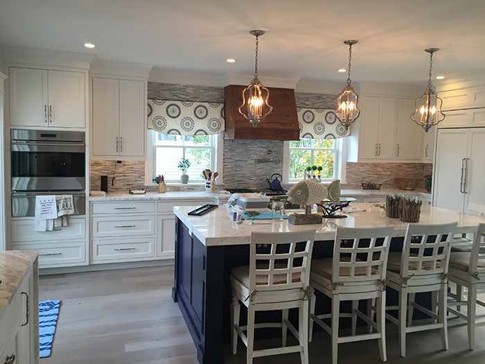 Different Color Kitchen Island Love That The Island Is A